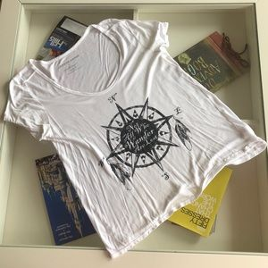 Used 'Not All Who Wander are Lost' Shirt